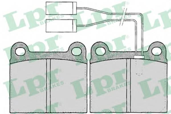 Тормозные колодки Тормозные колодки PAGID арт. 05P023
