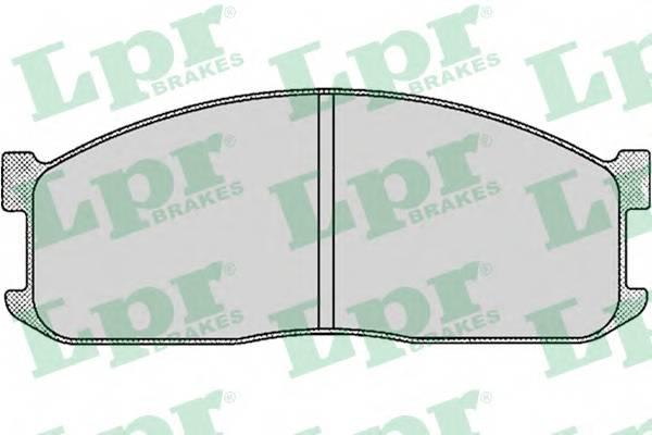 Тормозные колодки Тормозные колодки дисковые PAGID арт. 05P039