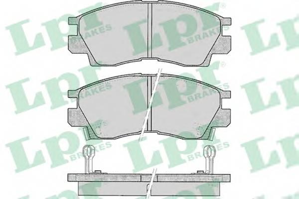 Тормозные колодки Тормозные колодки PAGID арт. 05P042