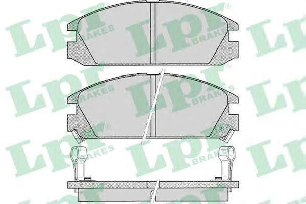 Тормозные колодки Тормозные колодки PAGID арт. 05P073