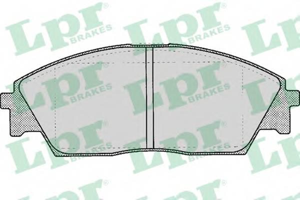 Тормозные колодки Тормозные колодки дисковые ABE арт. 05P082