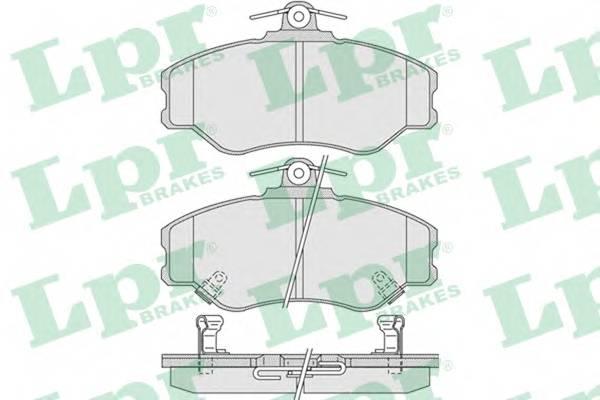 Тормозные колодки Тормозные колодки ABE арт. 05P1009