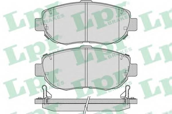 Тормозные колодки Тормозные колодки дисковые ABE арт. 05P1033