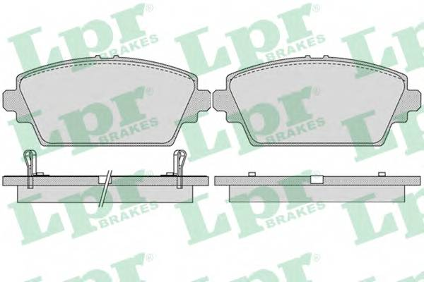 Тормозные колодки Тормозные колодки дисковые ABE арт. 05P1036
