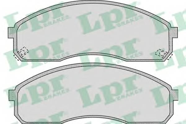 Тормозные колодки Тормозные колодки дисковые ABE арт. 05P1072