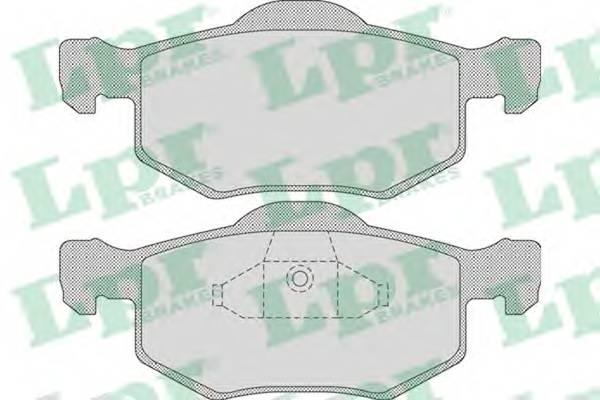 Тормозные колодки Тормозные колодки дисковые ABE арт. 05P1091