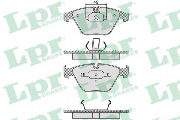Тормозные колодки Тормозные колодки дисковые PAGID арт. 05P1193