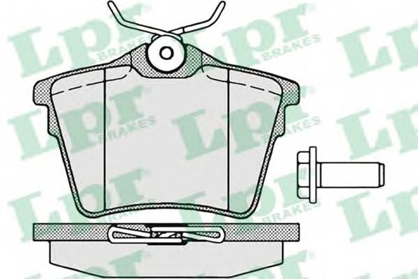 Тормозные колодки Тормозные колодки дисковые PAGID арт. 05P1195