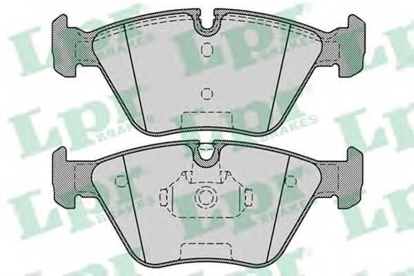 Тормозные колодки Тормозные колодки дисковые ABE арт. 05P1251