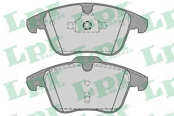 Тормозные колодки Тормозные колодки дисковые ABE арт. 05P1255