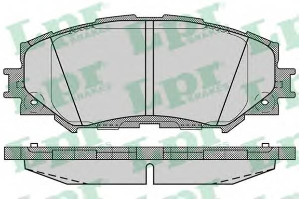 Тормозные колодки Тормозные колодки дисковые ABE арт. 05P1258