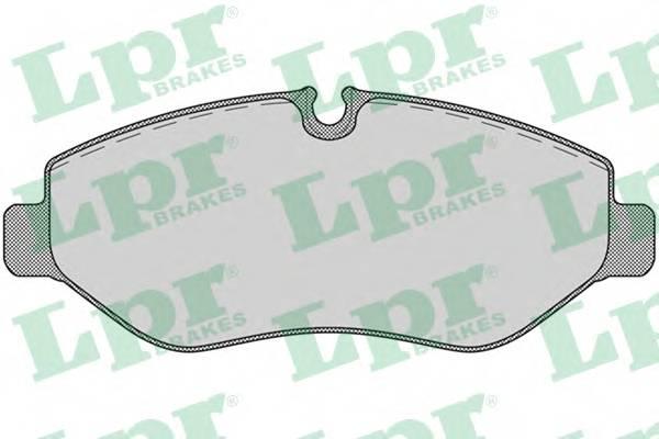 Тормозные колодки Тормозные колодки дисковые ABE арт. 05P1275