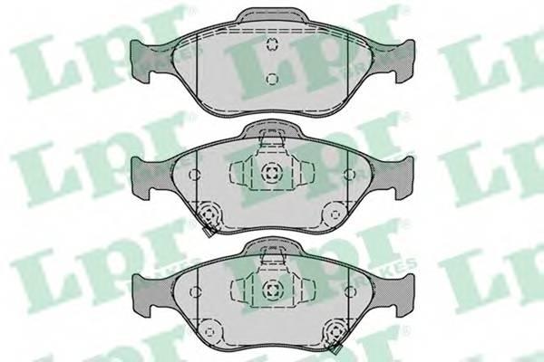 Тормозные колодки Тормозные колодки ABE арт. 05P1283
