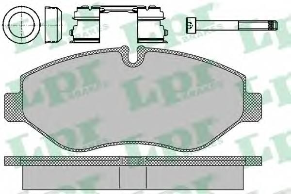 Тормозные колодки Тормозные колодки ABE арт. 05P1297