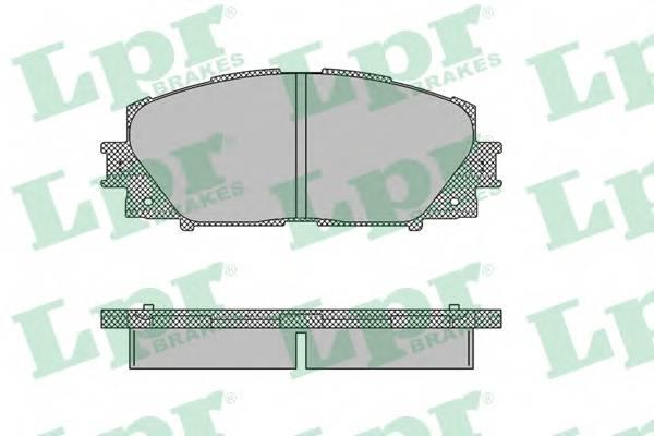 Тормозные колодки Тормозные колодки ABE арт. 05P1333
