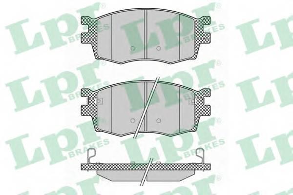 Тормозные колодки Тормозные колодки дисковые PAGID арт. 05P1345