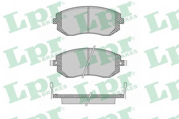 Тормозные колодки Тормозные колодки дисковые PAGID арт. 05P1363