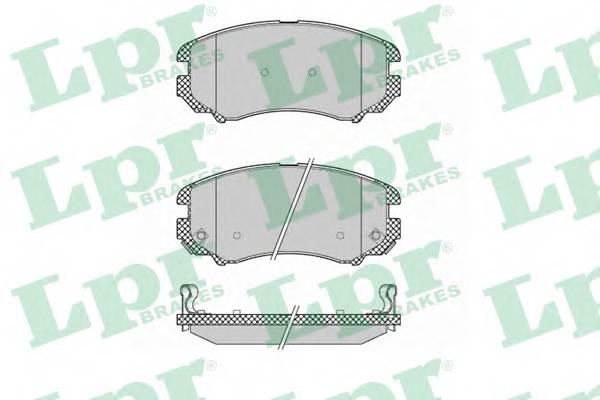 Тормозные колодки Тормозные колодки дисковые PAGID арт. 05P1369