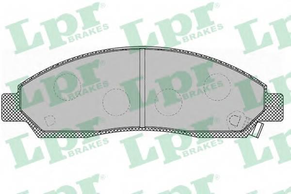 Тормозные колодки Тормозные колодки дисковые ABE арт. 05P1372