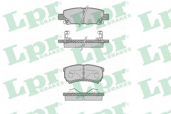 Тормозные колодки Тормозные колодки PAGID арт. 05P1373