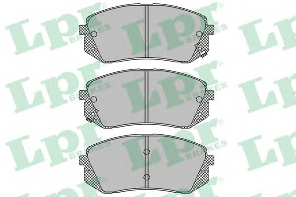 Тормозные колодки Тормозные колодки дисковые ABE арт. 05P1415