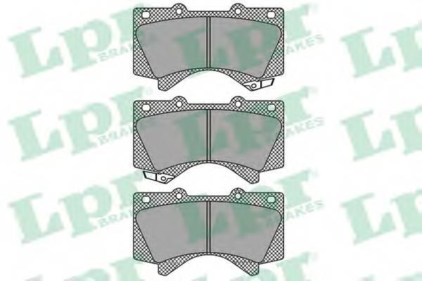 Тормозные колодки Тормозные колодки дисковые ABE арт. 05P1418