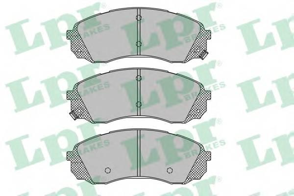 Тормозные колодки Тормозные колодки дисковые ABE арт. 05P1451
