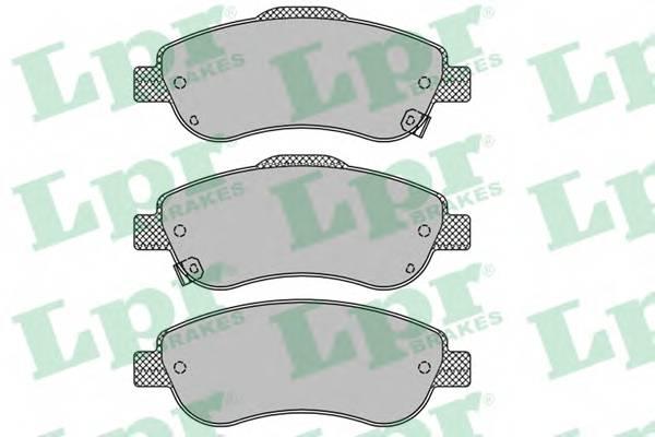 Тормозные колодки Тормозные колодки дисковые ABE арт. 05P1456