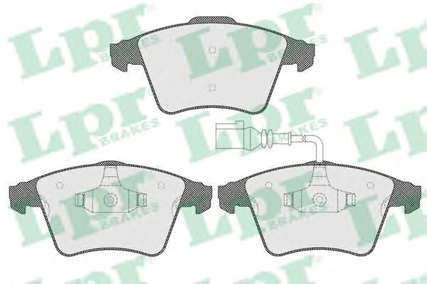 Тормозные колодки Тормозные колодки дисковые PAGID арт. 05P1536