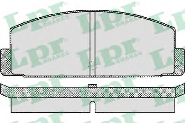 Тормозные колодки Тормозные колодки дисковые PAGID арт. 05P160