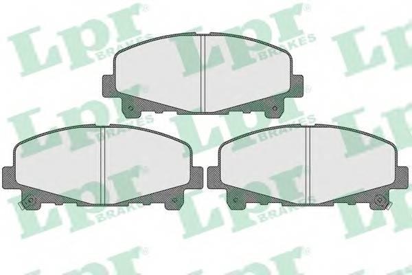 Тормозные колодки Тормозные колодки дисковые ABE арт. 05P1607