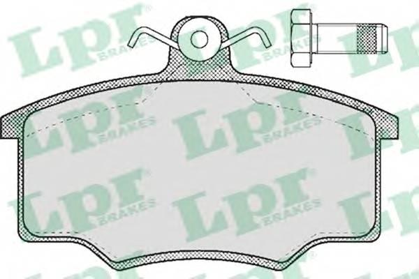 Тормозные колодки Тормозные колодки дисковые PAGID арт. 05P188