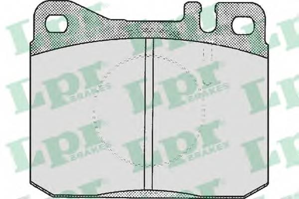 Тормозные колодки Тормозные колодки PAGID арт. 05P211