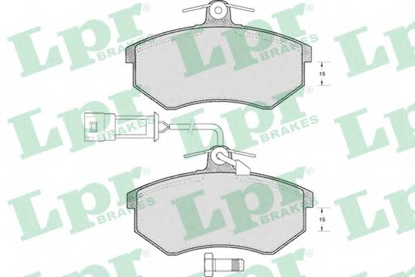Тормозные колодки SF2366 Тормозные колодки PAGID арт. 05P221