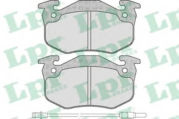 Тормозные колодки Тормозные колодки ABE арт. 05P231