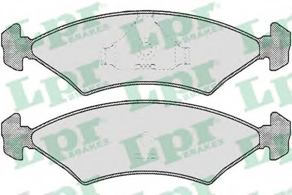Тормозные колодки Тормозные колодки ABE арт. 05P232