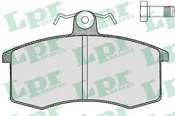 Тормозные колодки Тормозные колодки дисковые LPR арт. 05P288