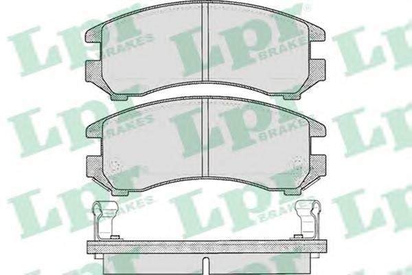 Тормозные колодки Тормозные колодки дисковые PAGID арт. 05P363