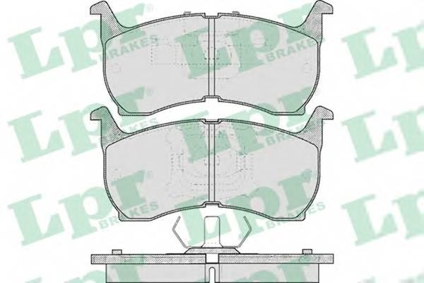 Тормозные колодки Тормозные колодки дисковые ABE арт. 05P368