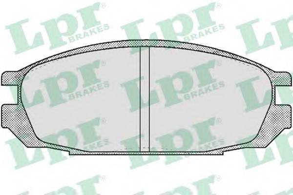 Тормозные колодки Тормозные колодки дисковые PAGID арт. 05P376