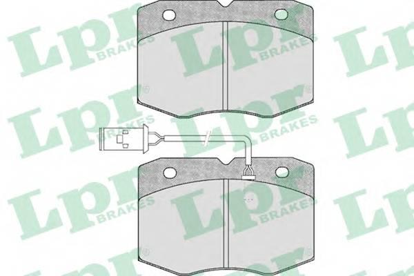 Тормозные колодки Тормозные колодки дисковые ABE арт. 05P388