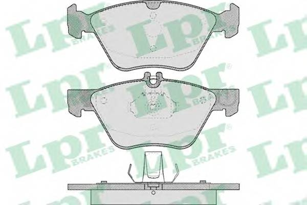 Тормозные колодки Тормозные колодки дисковые ABE арт. 05P406