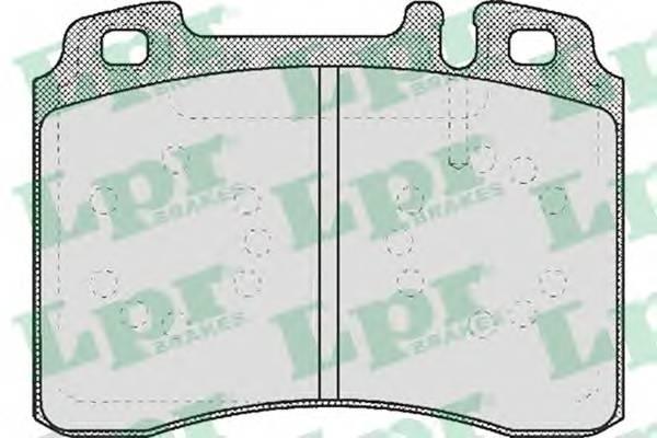 Тормозные колодки Тормозные колодки PAGID арт. 05P423