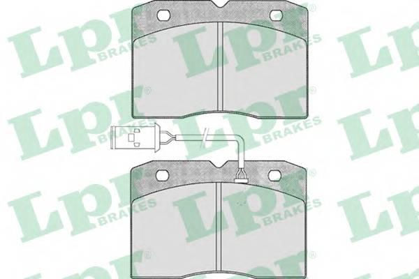 Тормозные колодки Тормозные колодки дисковые ABE арт. 05P425