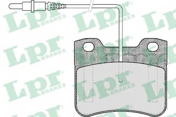 Тормозные колодки Тормозные колодки дисковые ABE арт. 05P444