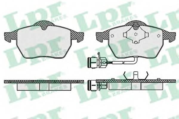 Гальмівні колодки, дискові PAGID арт. 05P453