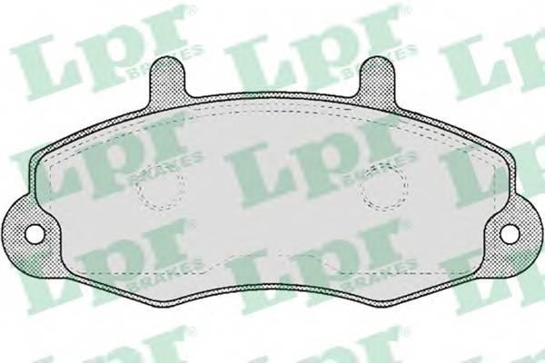 Гальмівні колодки, дискові PAGID арт. 05P481