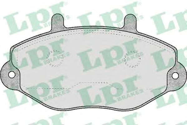 Гальмівні колодки, дискові PAGID арт. 05P482