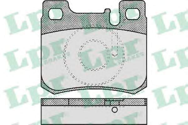 Тормозные колодки Тормозные колодки PAGID арт. 05P485