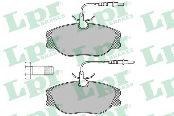 Тормозные колодки SF2822 Тормозные колодки ABE арт. 05P498